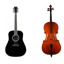 Obrázek cello + kytara
