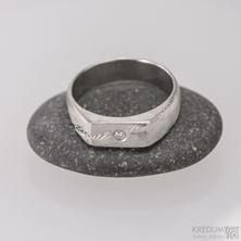 Obrázek Zásnubní prsten Prolili a čirý diamant