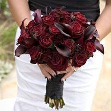 Picture of Wedding bouquet - Dark flowers