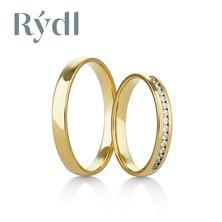 Obrázek Snubní prsteny 417/02 Palladium