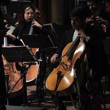 Obrázek cello + orchestr