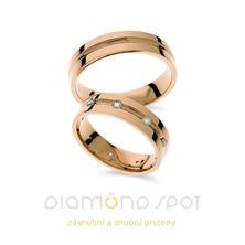 Obrázek Snubní prsteny R460
