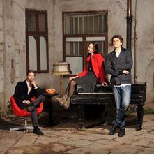 Picture of The Adams trio