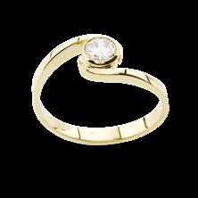 Obrázek Zásnubní prsten OP028Z