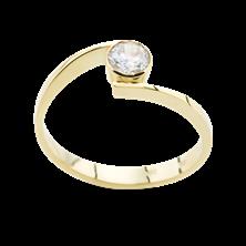 Obrázek Zásnubní prsten OP022Z