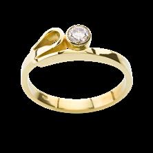 Obrázek Zásnubní prsten OP012Z